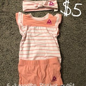 Reebok baby girl outfit